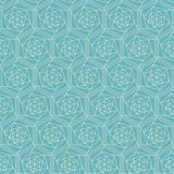 Diamond seamless pattern Royalty Free Stock Photography