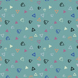 Diamond seamless pattern Royalty Free Stock Images
