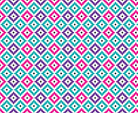 Diamond Seamless Pattern Bold Bright Royalty Illustrazione gratis