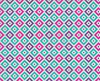 Diamond Seamless Pattern Bold Bright Royalty Free Stock Photography