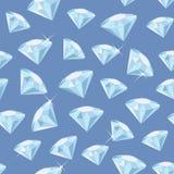 Diamond Seamless Pattern Stock Photo