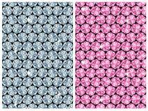 Diamond seamless pattern / vector Royalty Free Stock Photography