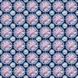 Diamond seamless Pattern / vector wallpaper Royalty Free Stock Photo