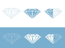 Diamond Set Royalty Free Stock Image