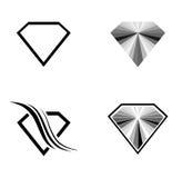 Diamond Set Royalty Free Stock Image