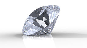 Diamond with shadows Stock Images