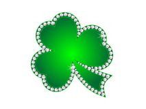 Diamond shamrock Stock Photo