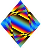 Diamond shape Stock Image