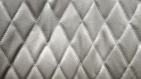 Diamond Shape Leather Pattern Arkivbild