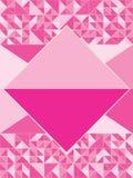 Diamond Shape rose Illustration de Vecteur