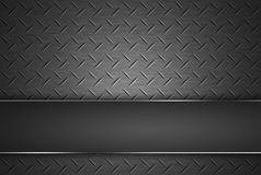 Diamond shape steel plate texture. Royalty Free Stock Images