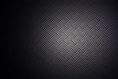 Diamond shape steel plate texture. Stock Photography