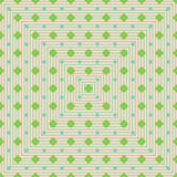 Diamond shape young green seamelss pattern Royalty Free Stock Images