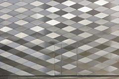 Diamond-shaped panels texture Stock Photo