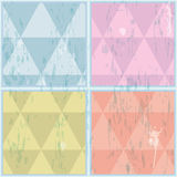 Diamond shaped pattern. Abstract, vector, EPS10. Diamond shaped pattern, illustrated with Illustrator CS and EPS10. Vector with transparency Stock Images