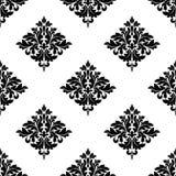 Diamond shaped seamless arabesque pattern Royalty Free Stock Photography