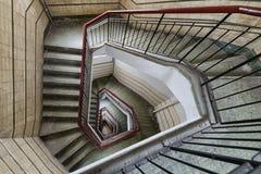 Diamond Shaped Stair imagem de stock royalty free