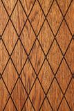 Diamond Shaped Wood royaltyfria foton