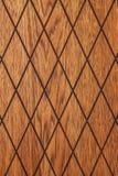 Diamond Shaped Wood lizenzfreie stockfotos