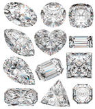 Diamond shapes. Royalty Free Stock Photography