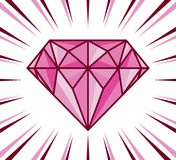 Diamond shine Royalty Free Stock Photo