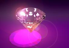 Diamond shining Royalty Free Stock Photos