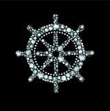 Diamond Ship Wheel Stock Photos