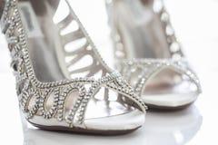 Diamond shoes Royalty Free Stock Photo