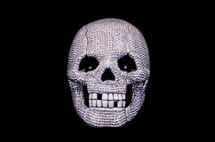 Diamond Skull Arkivfoto