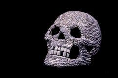 Diamond Skull Arkivbild