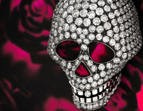 Diamond skull Royalty Free Stock Image