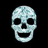 Diamond skull Royalty Free Stock Photos