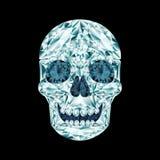 Diamond skull Royalty Free Stock Image