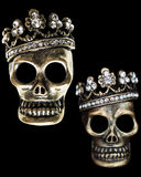Diamond Skulls Royalty Free Stock Photos