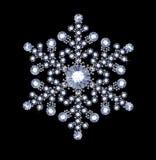 Diamond Snowflake Stock Foto