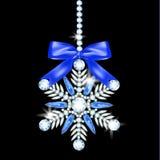 Diamond snowflake Stock Photography