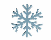Diamond snowflake. Christmas background. 3D Diamond snowflake. Christmas background Royalty Free Stock Photos