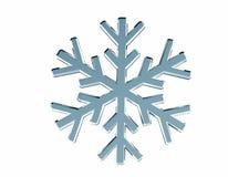 Diamond snowflake. Christmas background Royalty Free Stock Photos