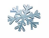Diamond snowflake. Christmas background Stock Image