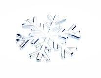 Diamond snowflake. Christmas background Stock Photos