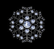 Diamond Snowflake Stock Images