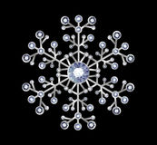 Diamond Snowflake Stock Images