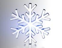 Diamond Snowflake Priorità bassa di natale Immagini Stock