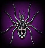 Diamond spider Stock Images