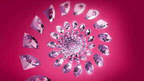 Diamond Spiral Stock Images
