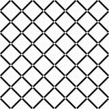 Diamond Square blanc sur le fond noir sans couture Illustration de vecteur Photos stock
