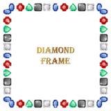 Diamond Square Frame Stock Photos