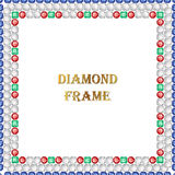 Diamond Square Frame Royalty Free Stock Photo