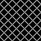 Diamond Square noir sur le fond blanc sans couture Illustration de vecteur Photos stock