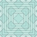 Diamond and Square Seamless Pattern. An abstract seamless pattern using pale cool colors with diamond and square shapes Royalty Free Illustration